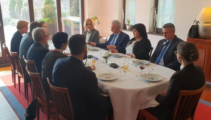 Swedish Ambassador hosts Meeting on Environment with Ministers