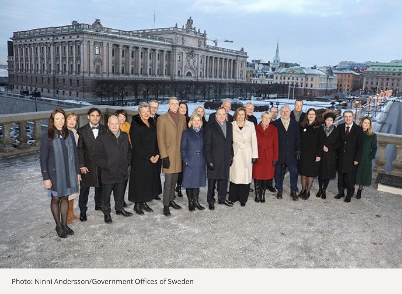 Sweden-New-Government-Group-Photo