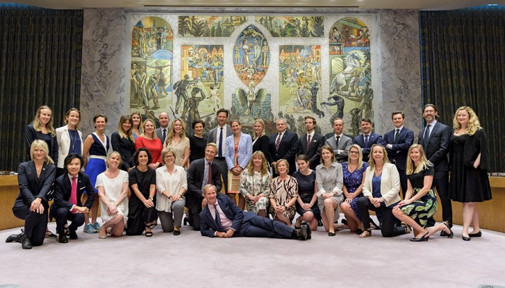 The Swedish UN Security Council Team July 2018