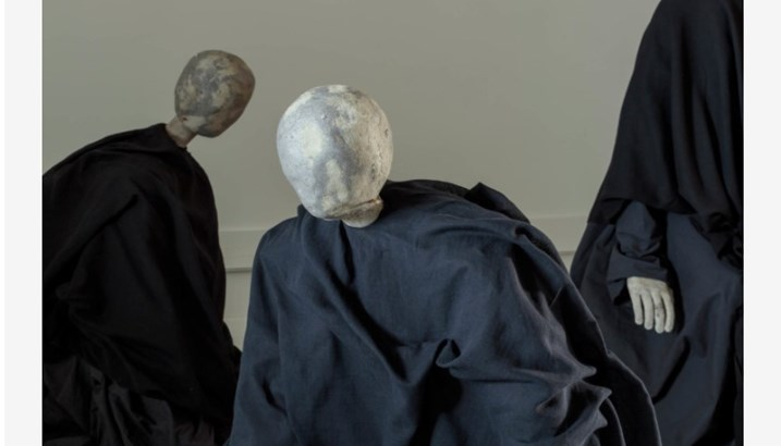 Sculptures by Swedish artist Karl Dunér