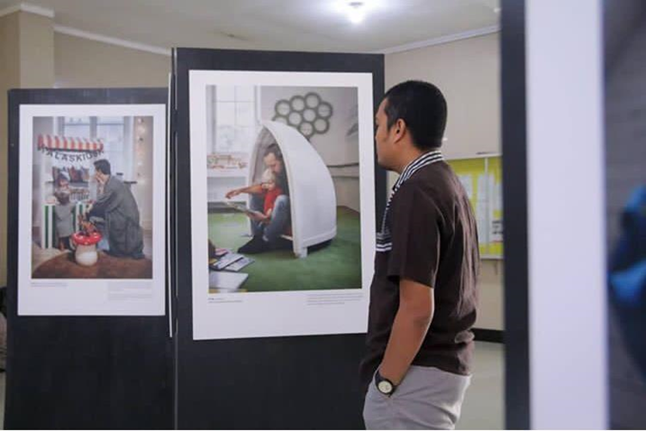 Swedish Dads Exhibition in Banda Aceh