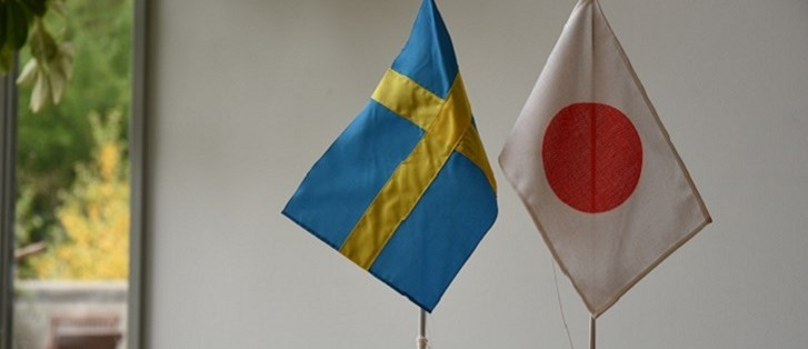 Sweden and Japan