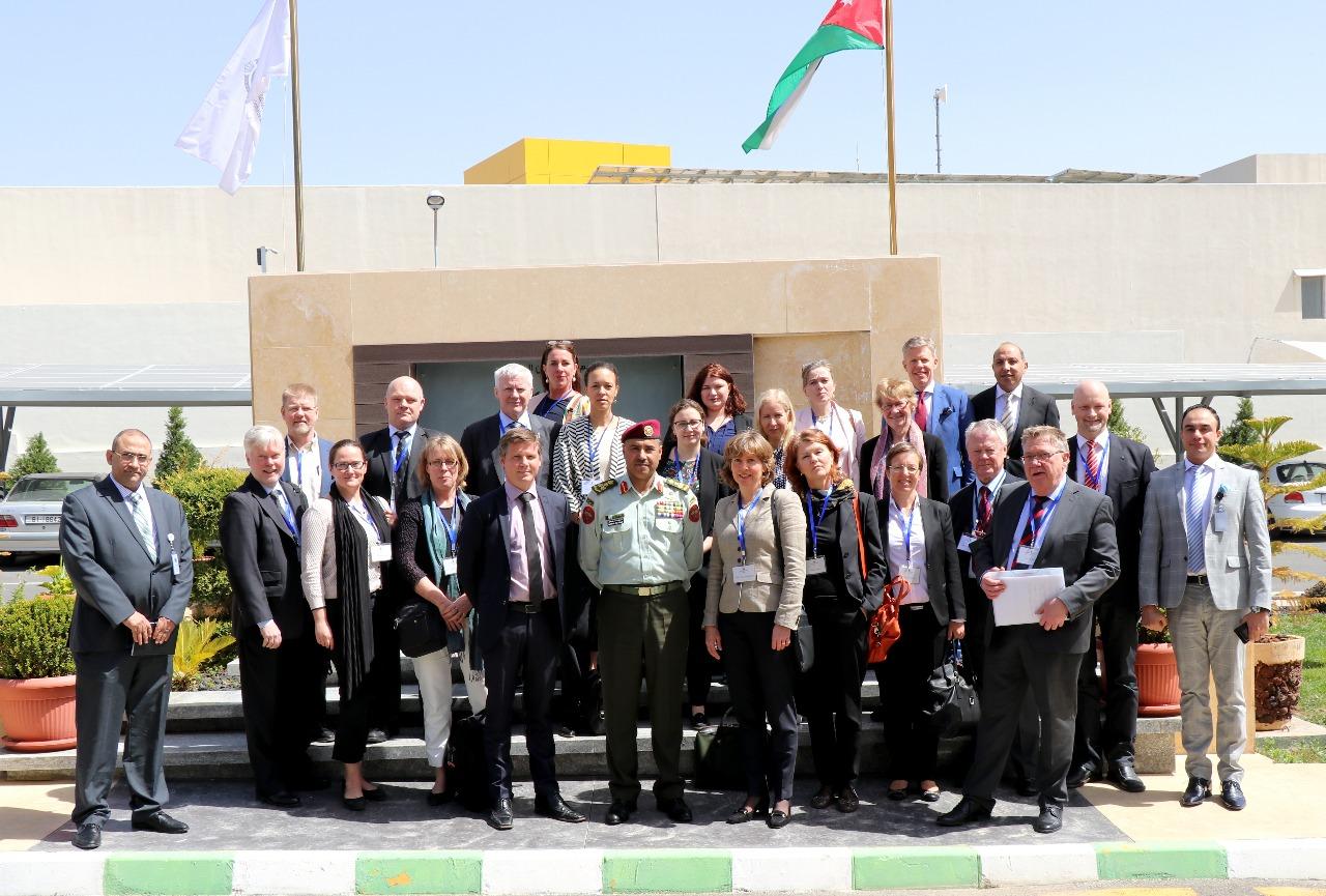 The Swedish association Folk & Försvar visit Jordan 17-20 March 2018