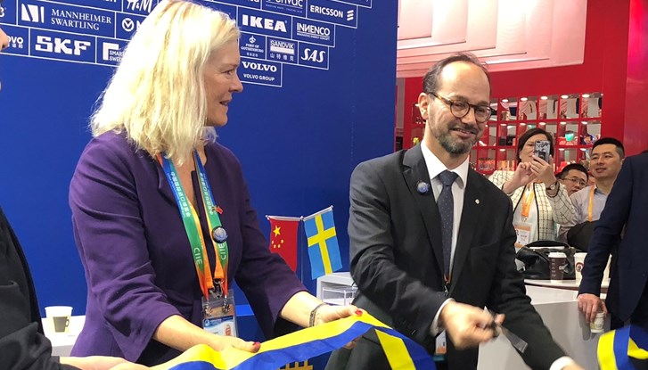 Team Sweden China participated in China International Import Expo (CIIE)