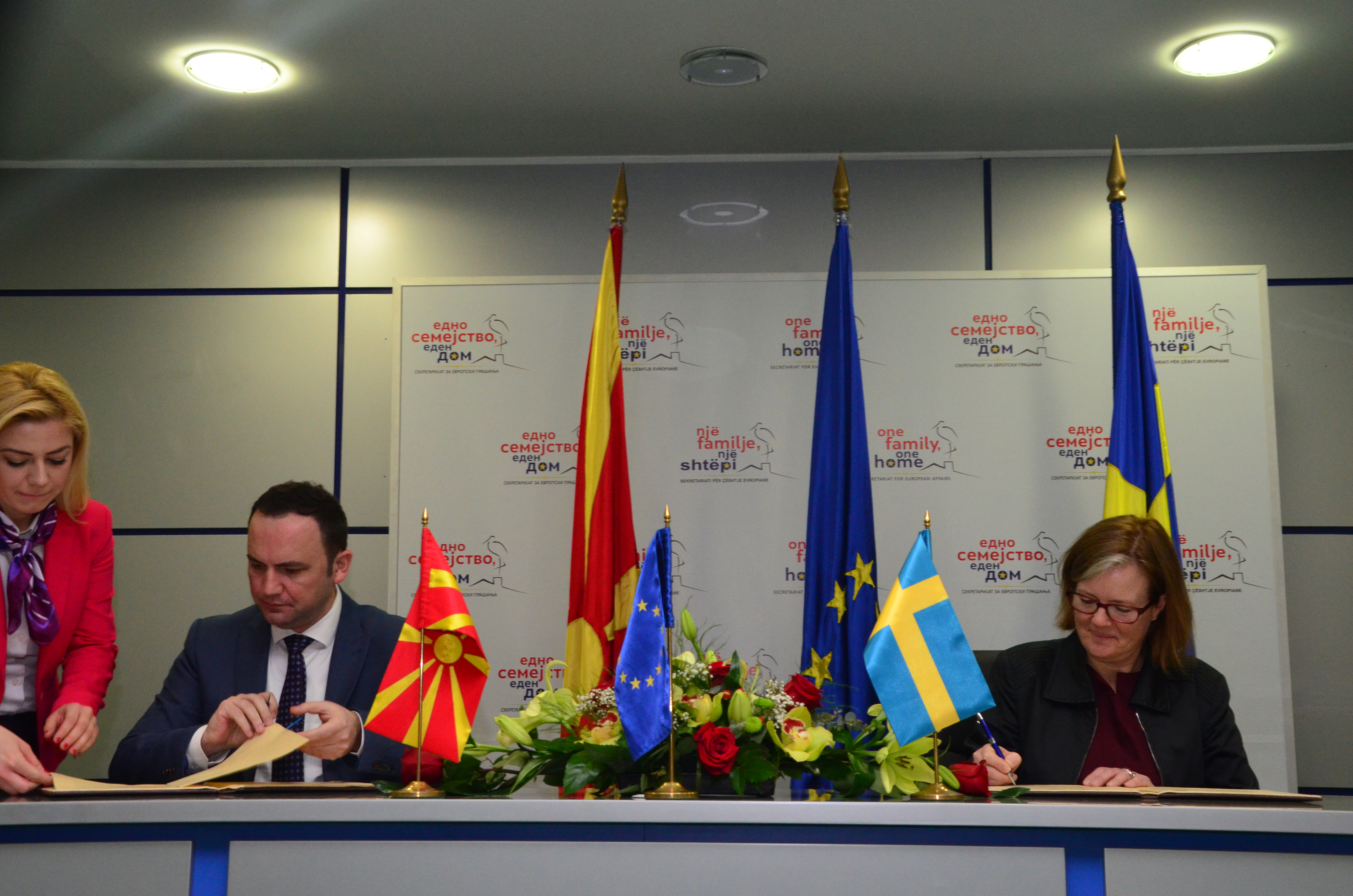 Renewed bilateral development cooperation between Sweden and Macedonia