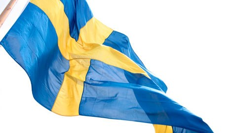 The Swedish flag. Photo: Ola Ericson/imagebanksweden.se
