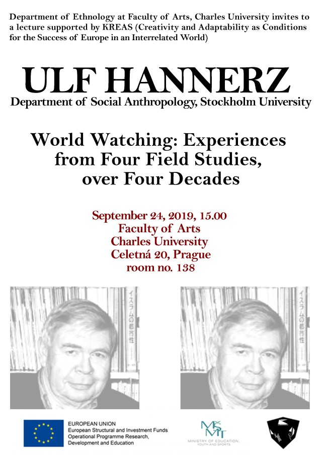 Ulf Hannerz Lecture