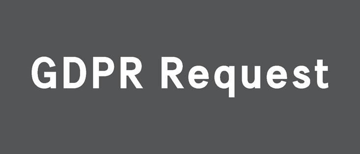 GDPR Request